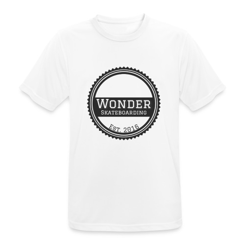 Wonder unisex-shirt round logo - Herre T-shirt svedtransporterende