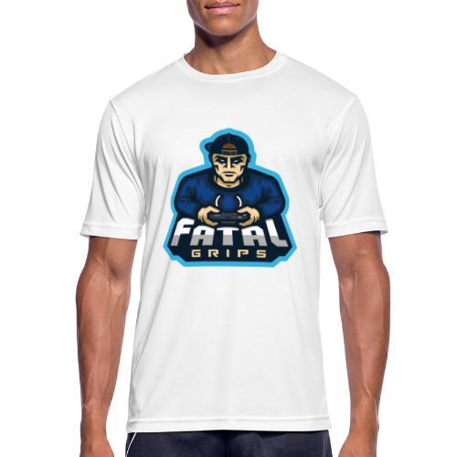 Fatal Grips Merch - Andningsaktiv T-shirt herr