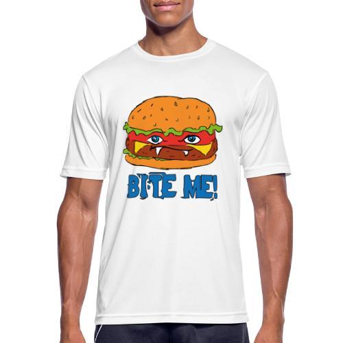 Bite me! - Maglietta da uomo traspirante