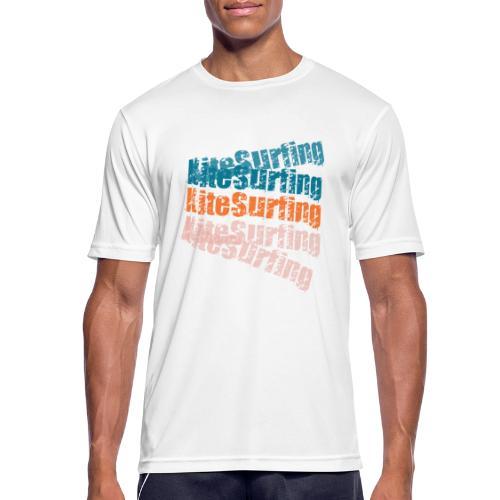 Kiteboard | Zensitivity beach - Mannen T-shirt ademend actief