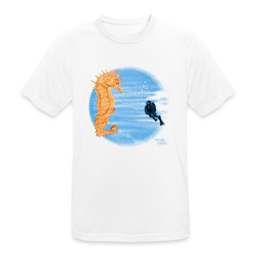 hippocampe - T-shirt respirant Homme