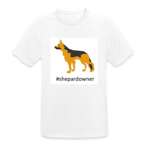 Schäferhund Besitzer - Männer T-Shirt atmungsaktiv