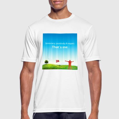 Rolling hills tshirt - Herre T-shirt svedtransporterende