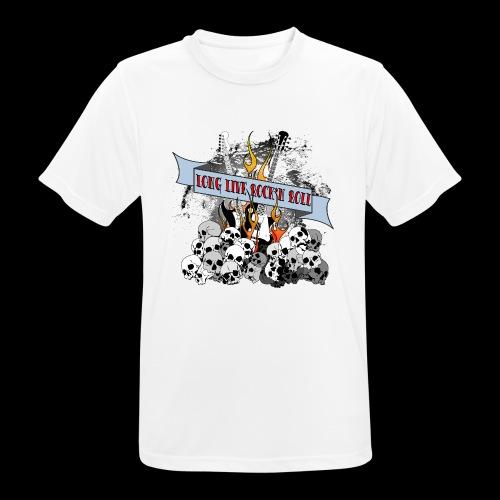 long live - Andningsaktiv T-shirt herr