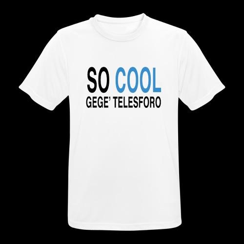 SO COOL - Maglietta da uomo traspirante