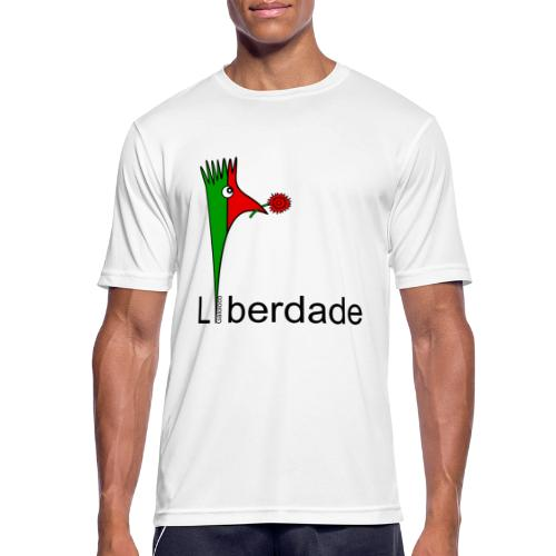 Galoloco - Liberdaded - 25 Abril - Männer T-Shirt atmungsaktiv