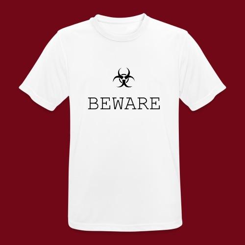 beware - Männer T-Shirt atmungsaktiv
