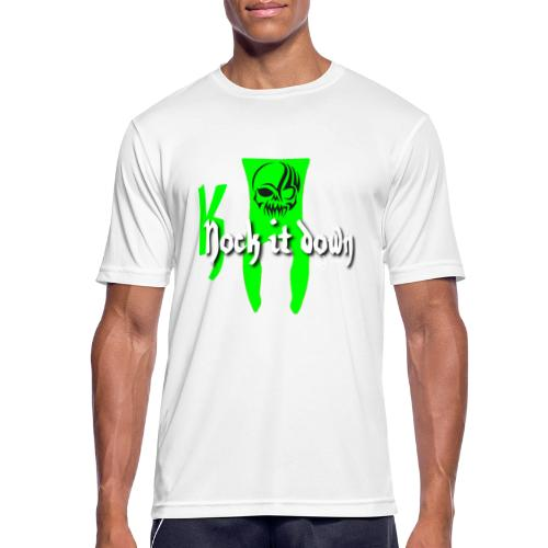 Nock it down - Männer T-Shirt atmungsaktiv