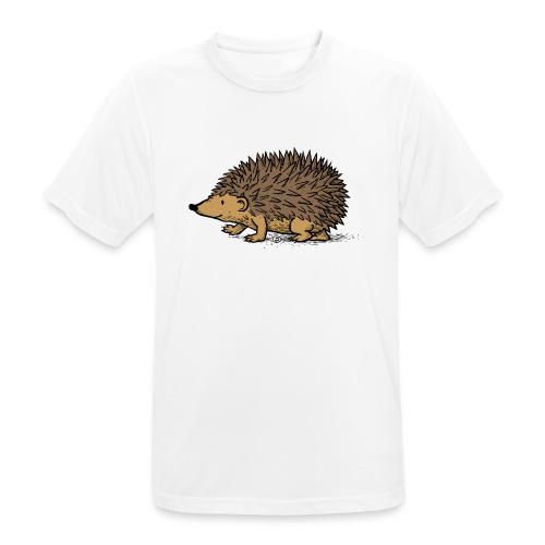 egel illustratie - Mannen T-shirt ademend