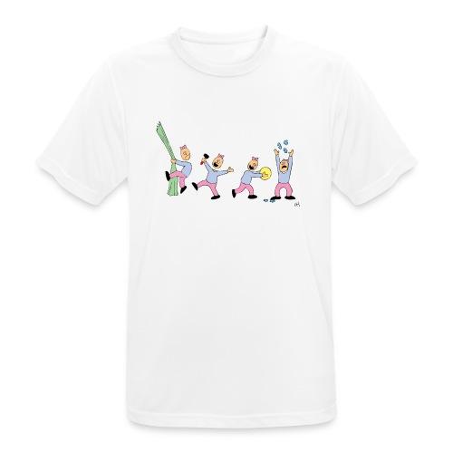 toern babybody - Pustende T-skjorte for menn