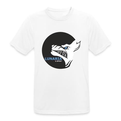 Lunaria_Logo tete pleine - T-shirt respirant Homme