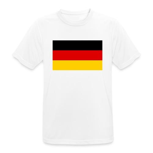 2000px Flag of Germany svg - Männer T-Shirt atmungsaktiv