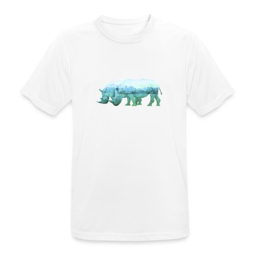 RHINOS, DIE NASHÖRNER IN DEN ALPEN - Männer T-Shirt atmungsaktiv