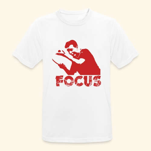 Focus on the GAME and Win the Championship - Männer T-Shirt atmungsaktiv