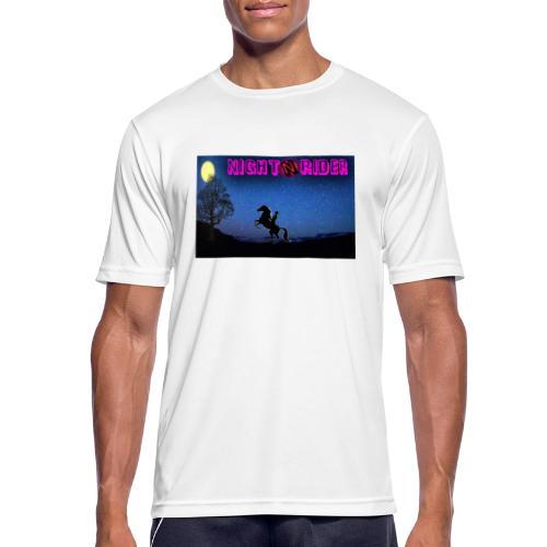 nightrider merch - Herre T-shirt svedtransporterende