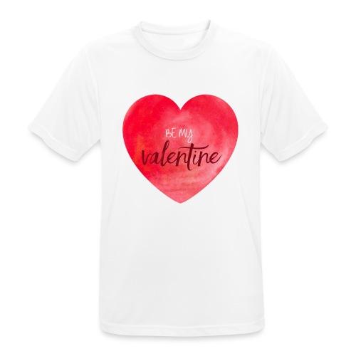 Cœur st.valentin - T-shirt respirant Homme