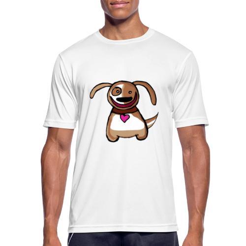 Titou le chien - T-shirt respirant Homme