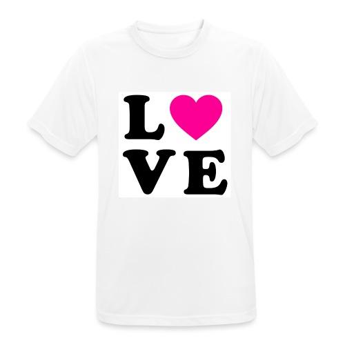 Love t-shirt - T-shirt respirant Homme