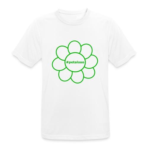 #petaloso - Maglietta da uomo traspirante