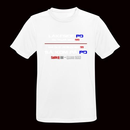 DD på PD Kollektion 2016 - Herre T-shirt svedtransporterende