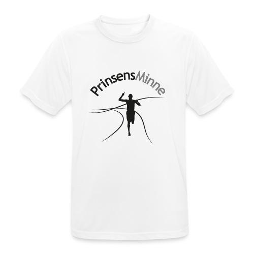 PrinsensMinne logga - Andningsaktiv T-shirt herr