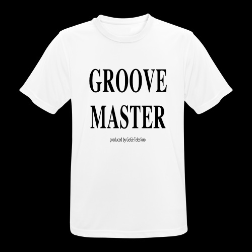 Groove Master2 - Maglietta da uomo traspirante