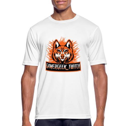GamerGeek Logo XXXL - Männer T-Shirt atmungsaktiv