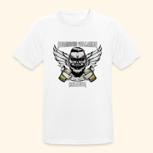 Bearded Villains Belgium - Men's Breathable T-Shirt