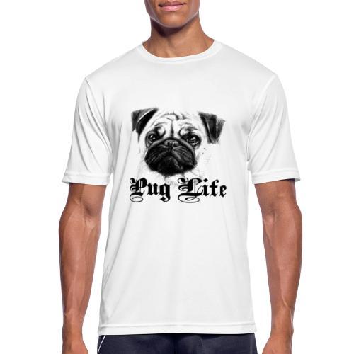 La vie de carlin - T-shirt respirant Homme