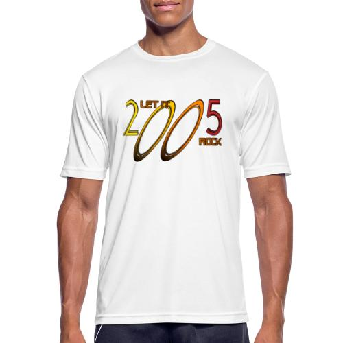 Let it Rock 2005 - Männer T-Shirt atmungsaktiv
