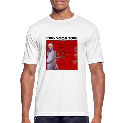 S Zorg voor Zorg - Mannen T-shirt ademend actief