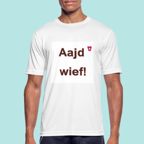Aajd wief def b verti - Mannen T-shirt ademend actief