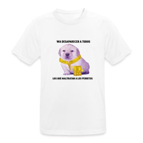 No al maltrato animal - Camiseta hombre transpirable