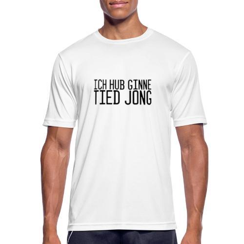 Ginne tied - Mannen T-shirt ademend actief
