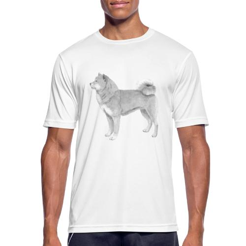 shiba inu - Herre T-shirt svedtransporterende