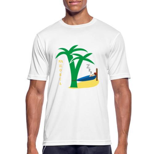 Mallorca - Urlaub unter Palmen - Männer T-Shirt atmungsaktiv