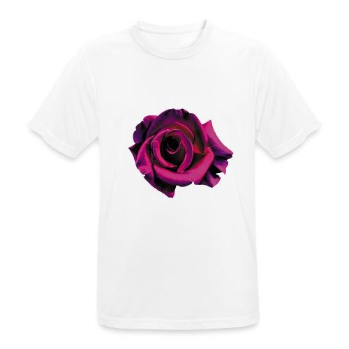Lila Ros - Andningsaktiv T-shirt herr