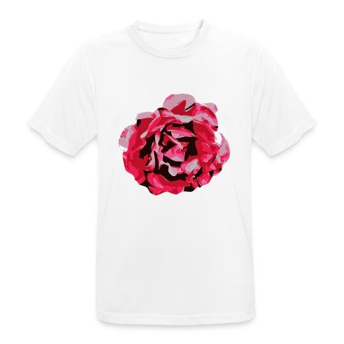 rose - Männer T-Shirt atmungsaktiv