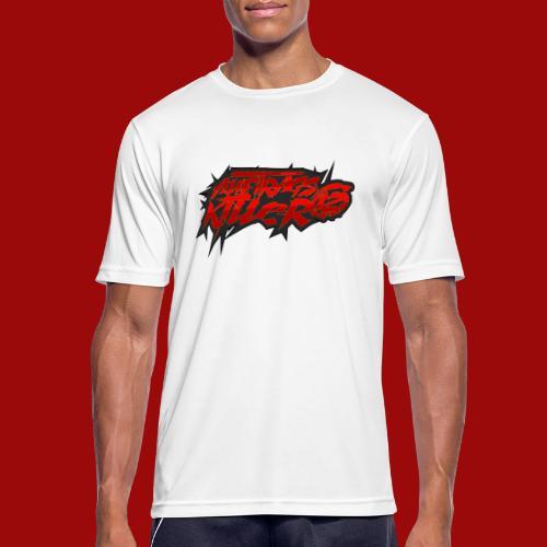 Auftragskillerx2 Schrift - Männer T-Shirt atmungsaktiv