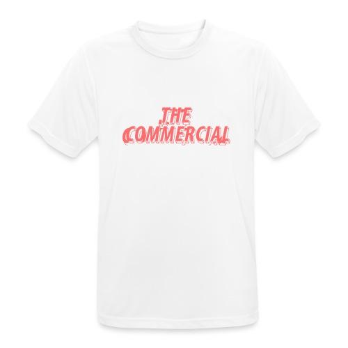 The Commercial Design #1 (Salmon - Men's Breathable T-Shirt