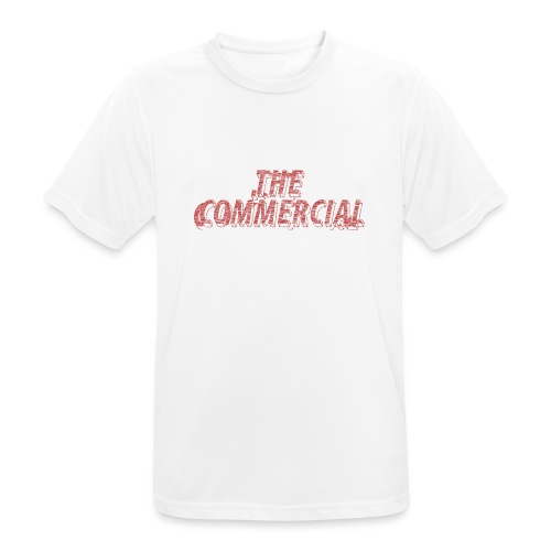 The Commercial #2 (Salmon Long Strokes) - Men's Breathable T-Shirt