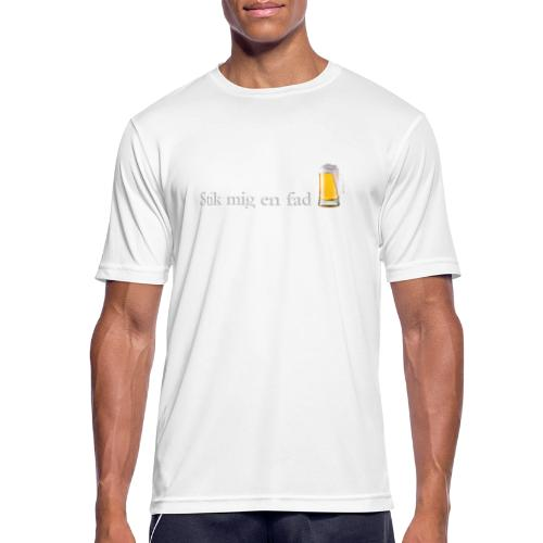 Stik mig en fad af Dale & Nilsson - Herre T-shirt svedtransporterende