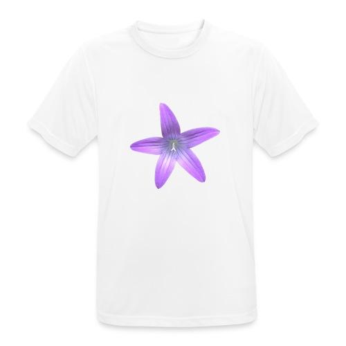 Purple flower - Camiseta hombre transpirable