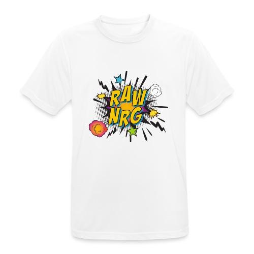 Raw Nrg comic 1 - Men's Breathable T-Shirt