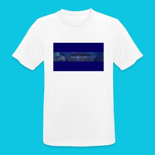 buismat bleu - Mannen T-shirt ademend