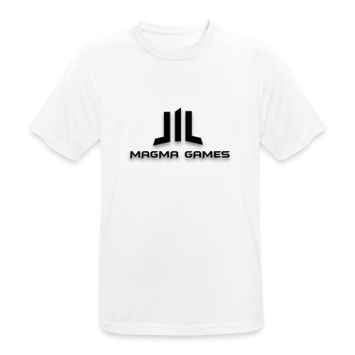 Magma Games kussen - Mannen T-shirt ademend