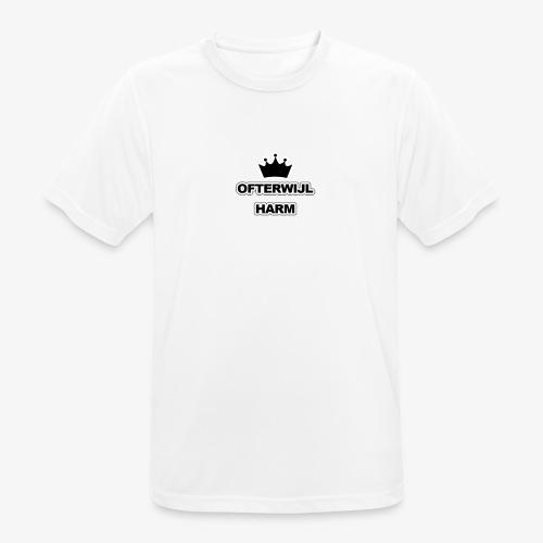 logo png - Mannen T-shirt ademend actief