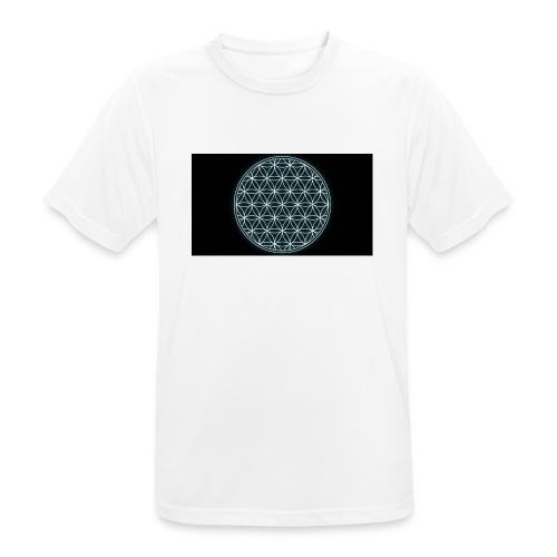 flower of life - Mannen T-shirt ademend