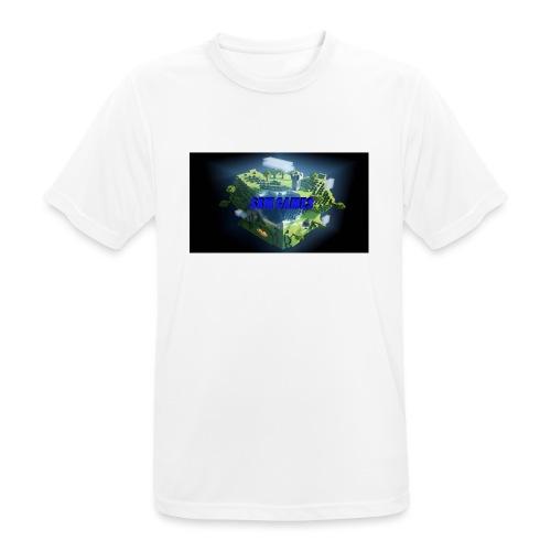 T-shirt SBM games - Mannen T-shirt ademend