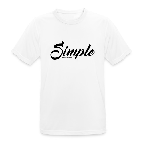 Simple: Clothing Design - Men's Breathable T-Shirt